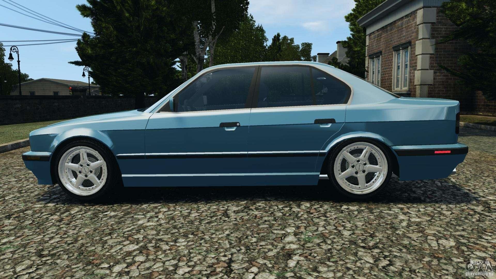 Bmw E34 V8 540i For Gta 4