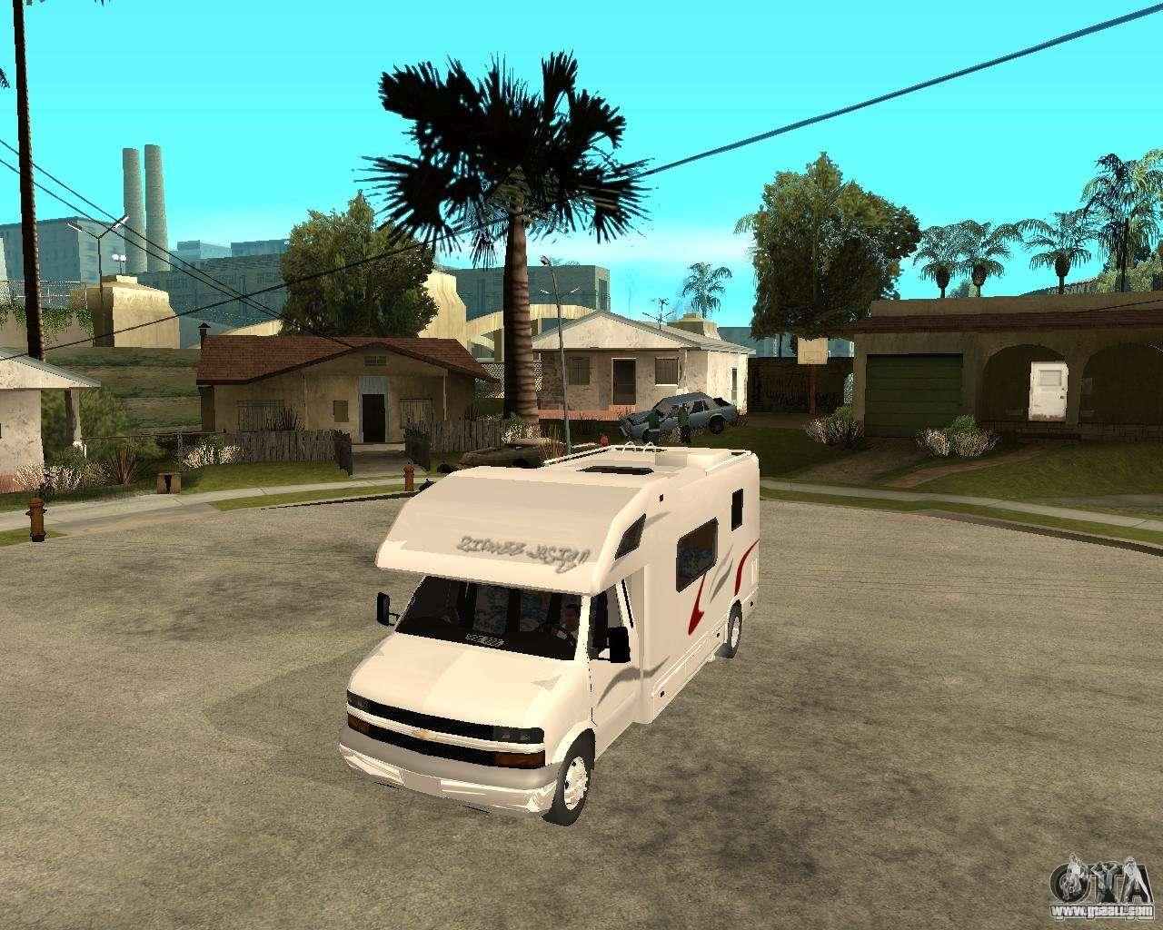 Chevrolet Camper for GTA San Andreas