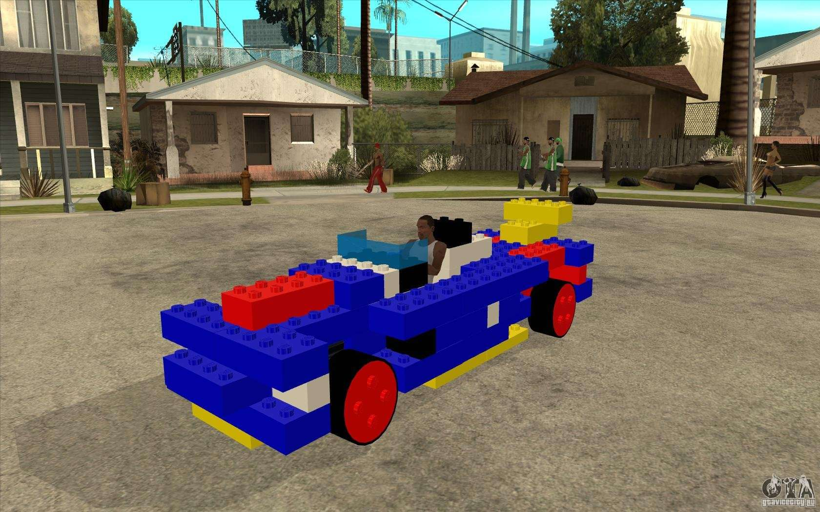 Lego Car For Gta San Andreas