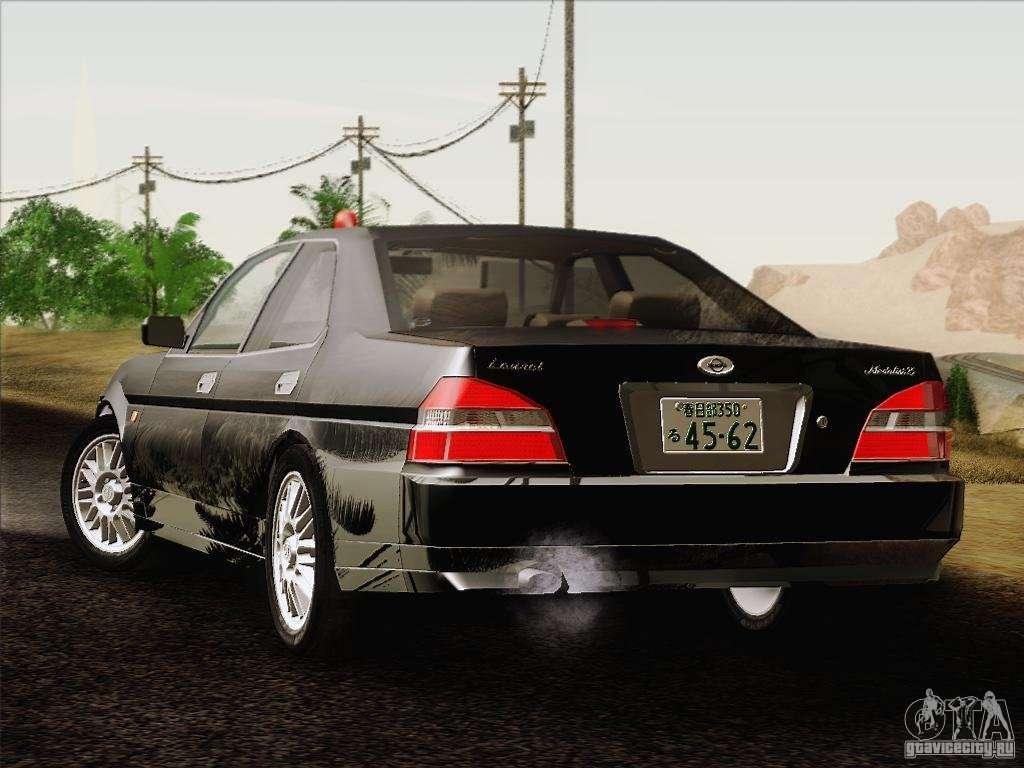 nissan laurel gc35 kouki unmarked police car for gta san. Black Bedroom Furniture Sets. Home Design Ideas