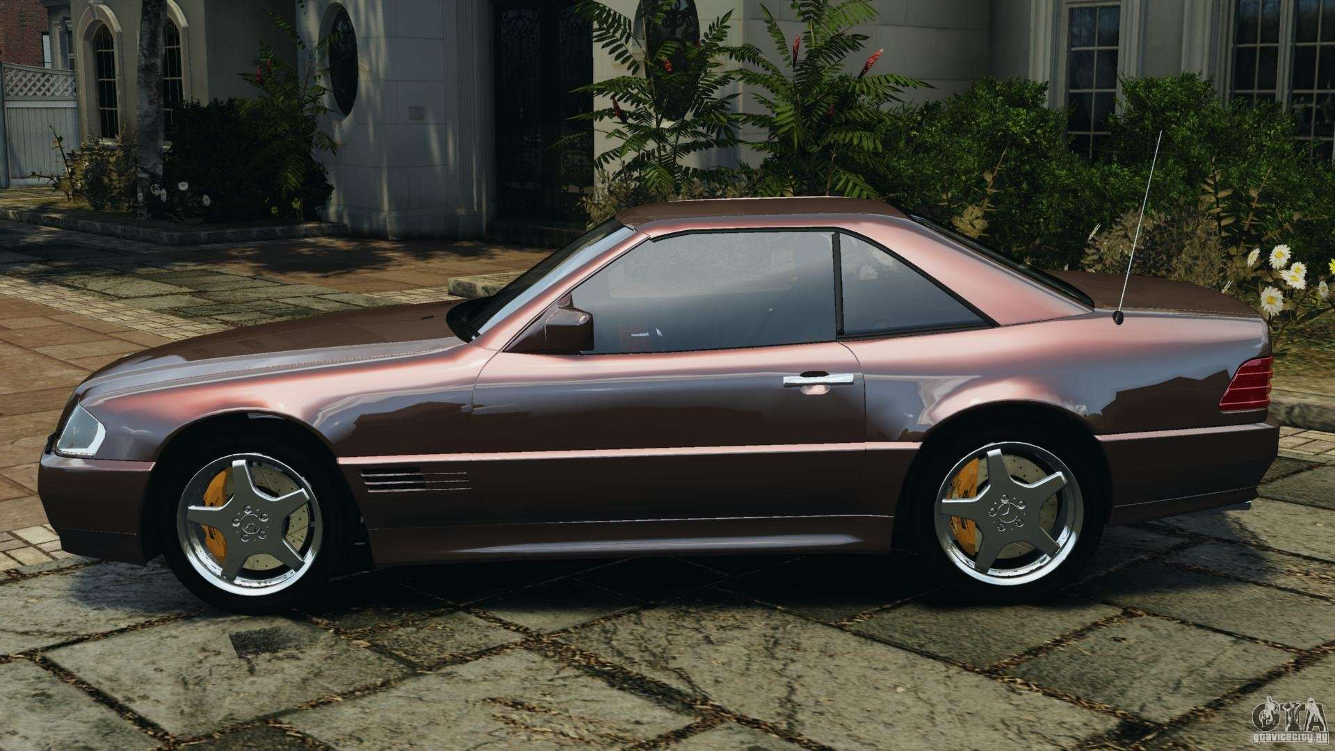 Mercedes benz sl 500 amg 1995 final for gta 4 for 1995 mercedes benz sl500