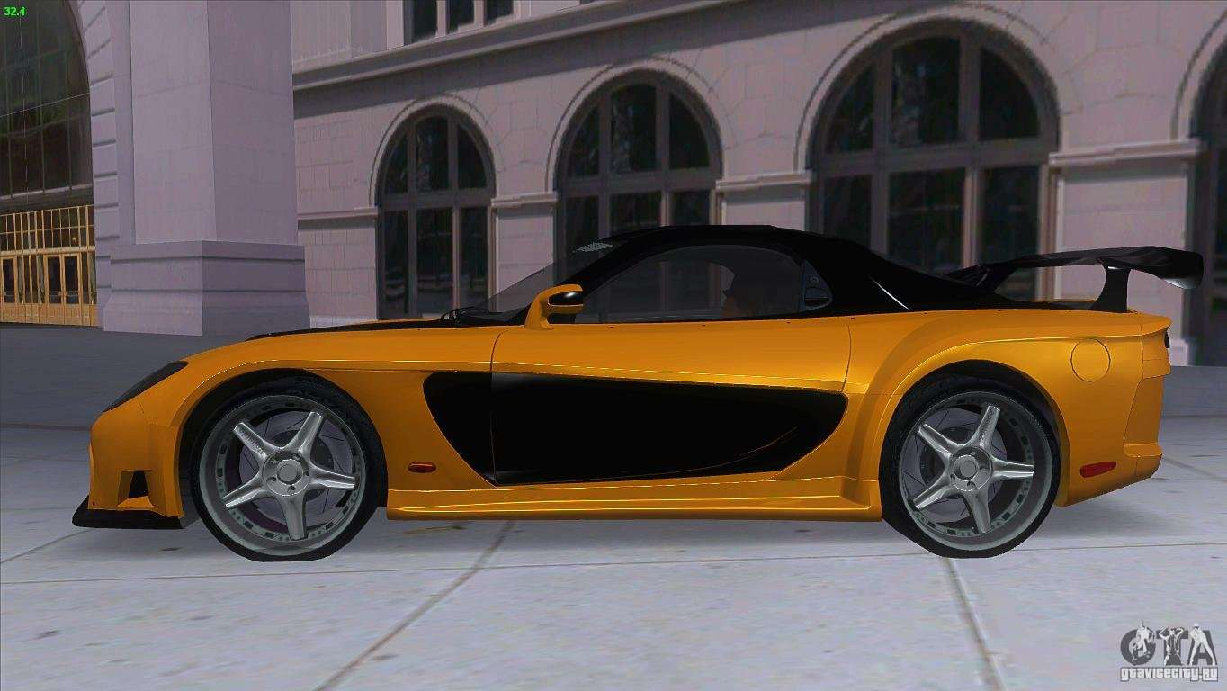 mazda rx7 veilside for gta san andreas
