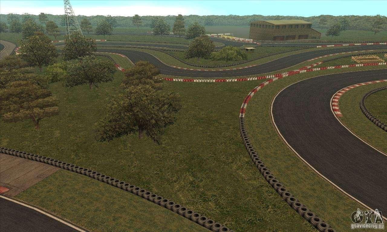 GOKART track Route 2 for GTA San Andreas