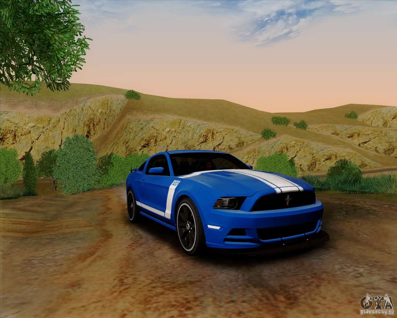ford mustang boss 302 for gta san andreas. Black Bedroom Furniture Sets. Home Design Ideas