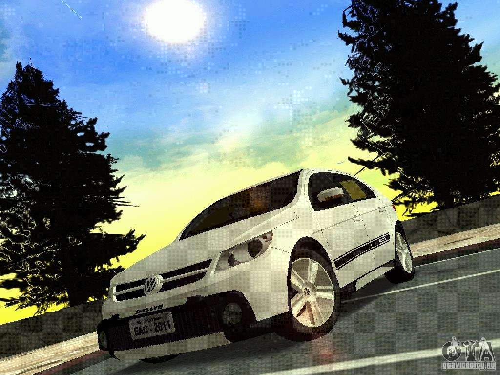 Volkswagen Gol Rallye 2012 for GTA San Andreas