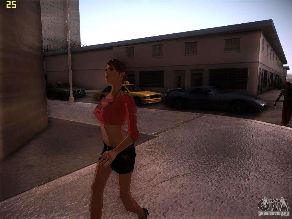 Skin Girl Nfs Ps For Gta San Andreas-7714