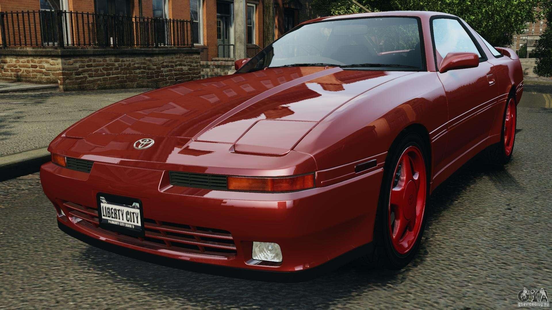Toyota Supra Mk3 - Toyota Supra   Turbo Mk  Epm For Gta