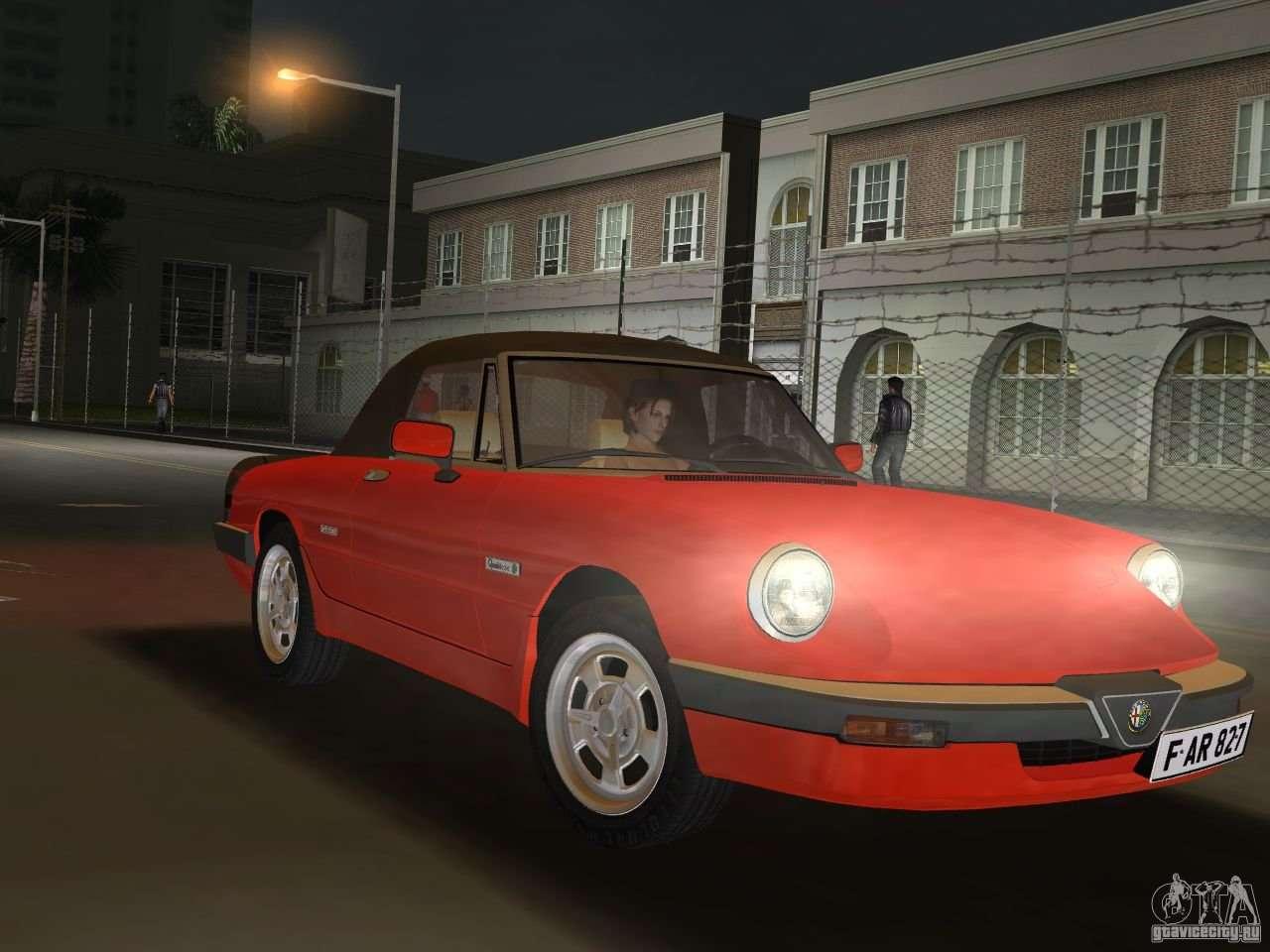 Alfa Romeo Spider 1986 For Gta Vice City