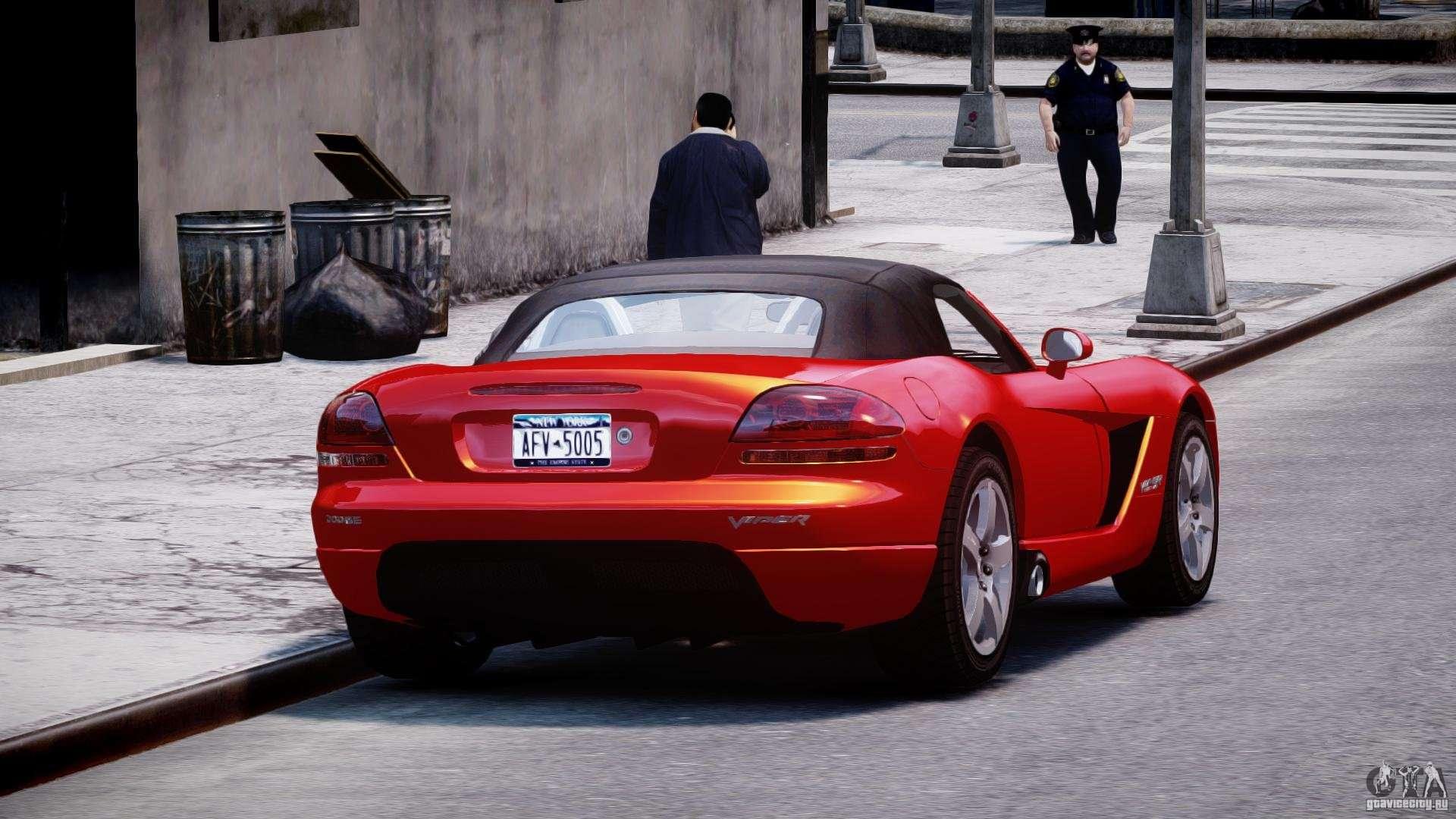 Dodge viper srt 10 2003 1 0 for gta 4 inner view