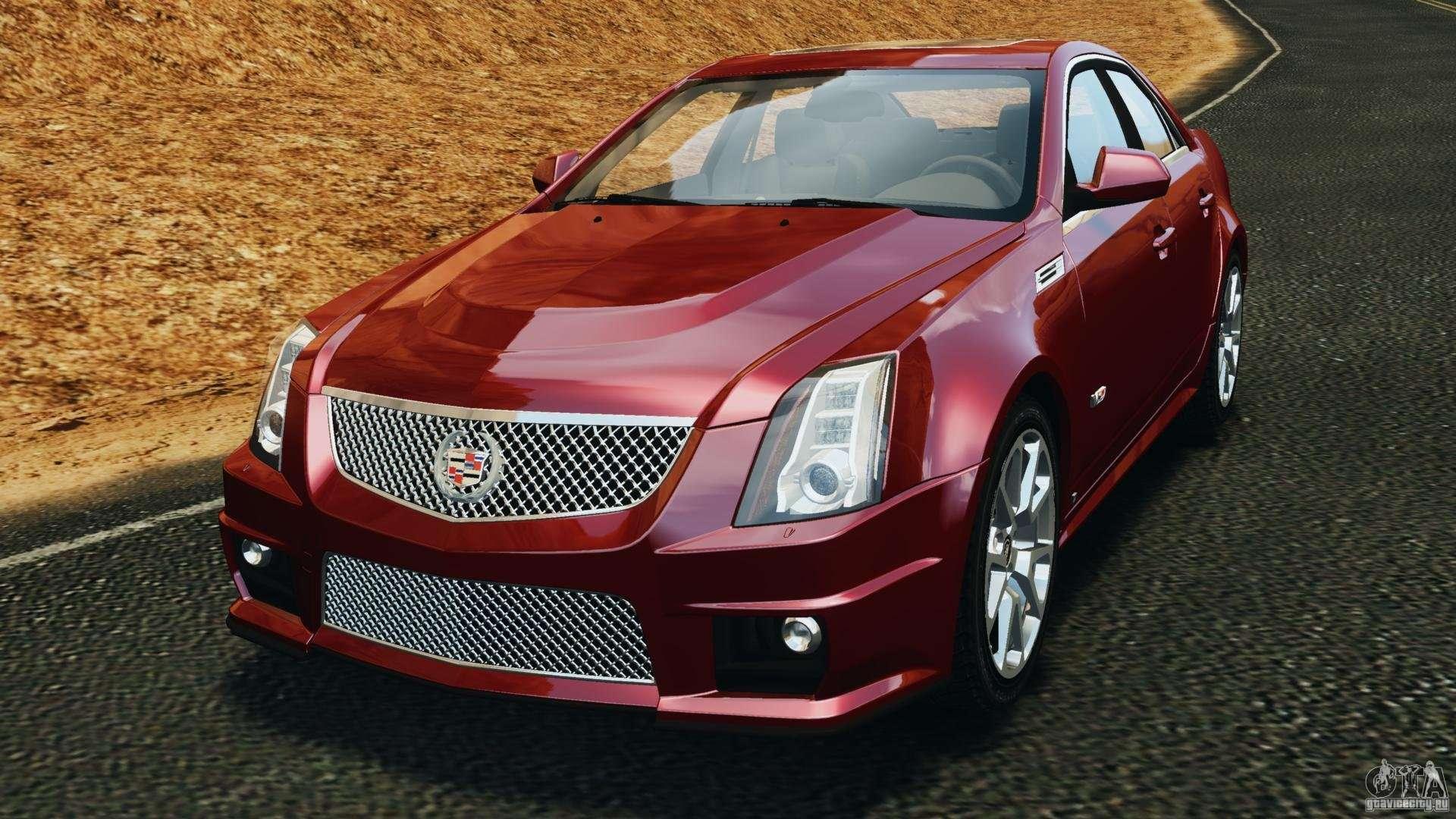 Cadillac Cts V 2009 For Gta 4