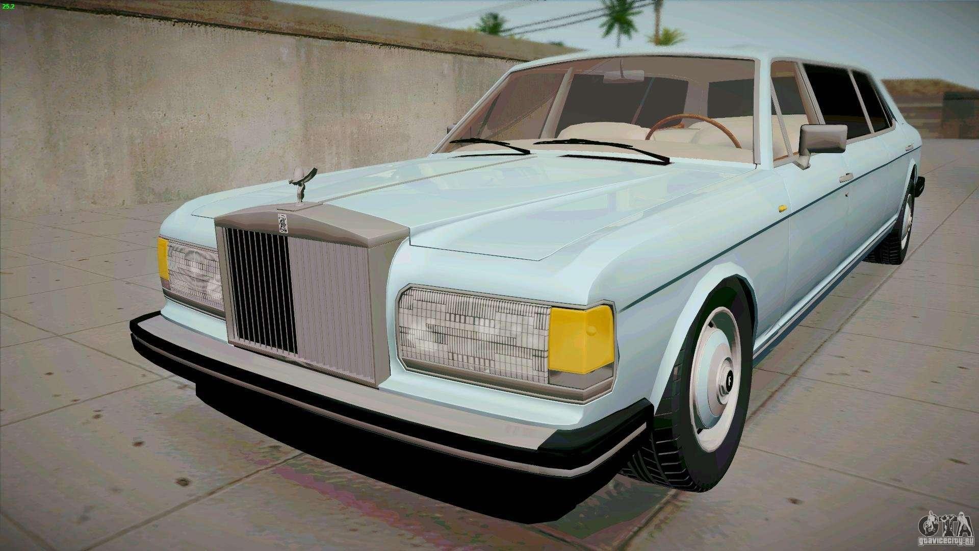 Rolls Royce Limo >> Rolls Royce Silver Spirit 1990 Limo For Gta San Andreas