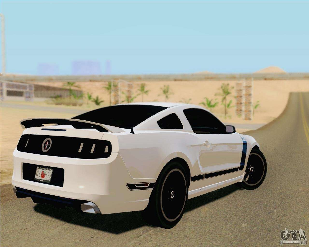 ford mustang boss 302 2013 for gta san andreas. Black Bedroom Furniture Sets. Home Design Ideas
