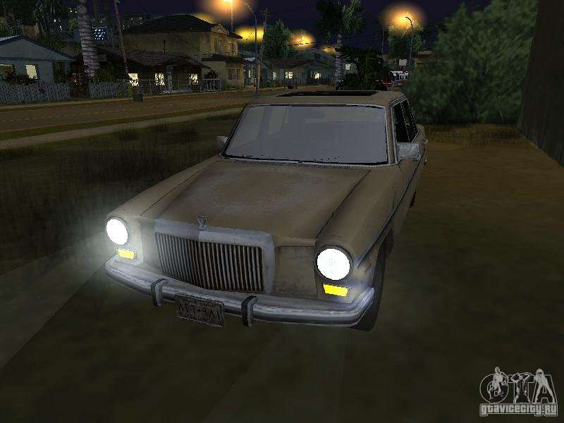 Mercedes benz of call of duty 4 for gta san andreas for Call mercedes benz