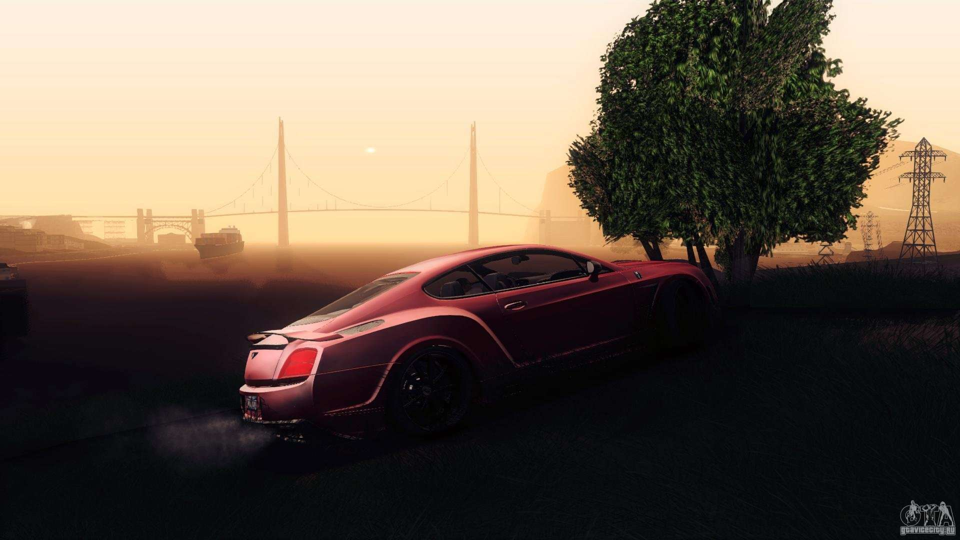 Bentley Continental GT Premier4509 2008 Final For GTA San Andreas Engine