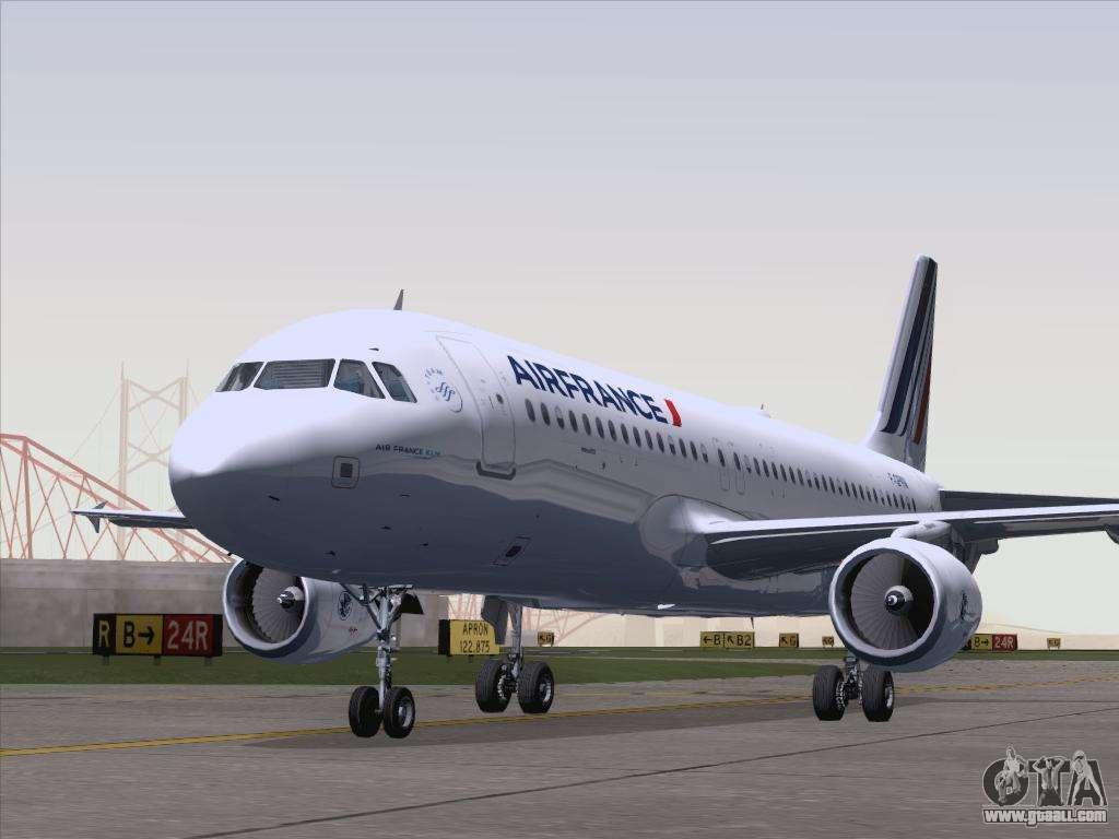 Airbus a320 211 air france for gta san andreas for Airbus a320 air france interieur