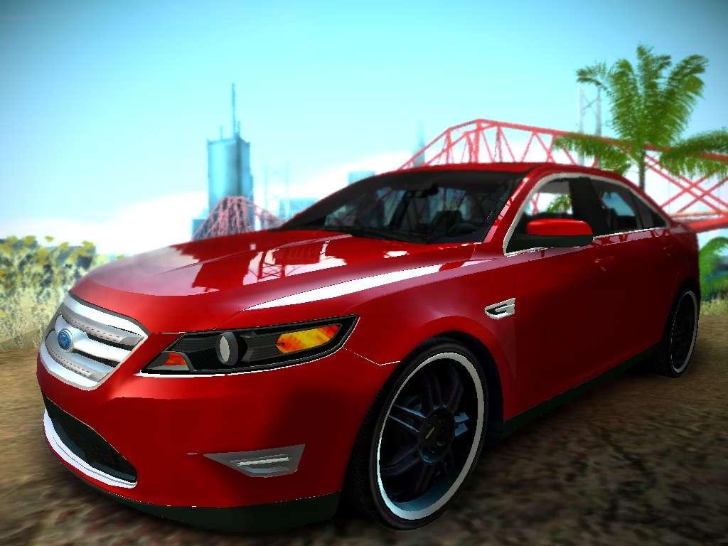 2016 Taurus Sho >> Ford Taurus SHO 2011 for GTA San Andreas