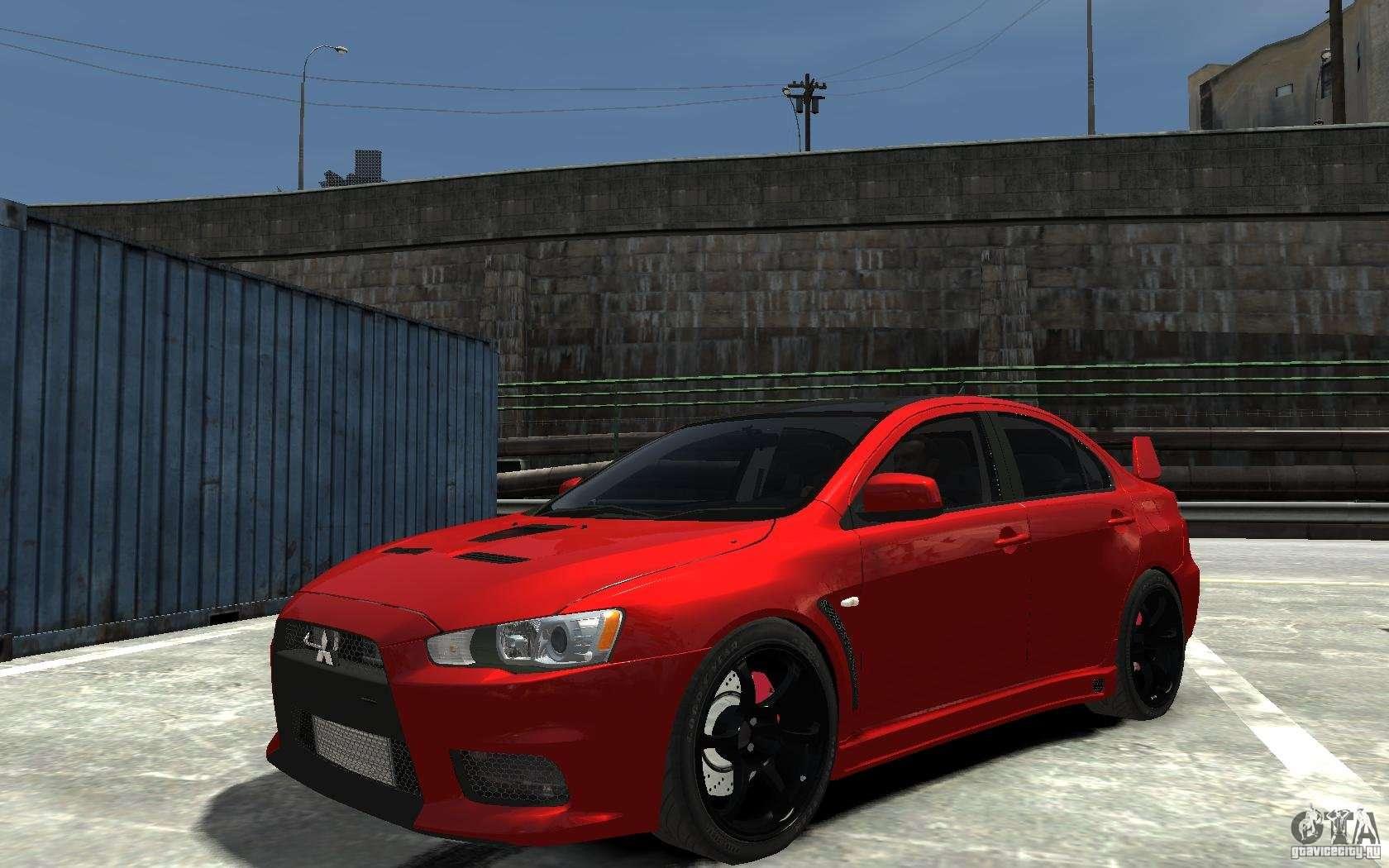 Evo X Mr >> Mitsubishi Lancer Evo X v.1.0 for GTA 4