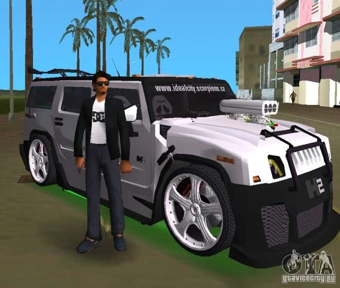 amg hummer h2 hard tuning v2 for gta vice city. Black Bedroom Furniture Sets. Home Design Ideas