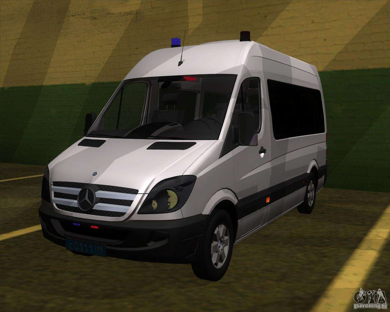 Mercedes Benz Sprinter 311cdi For Gta San Andreas