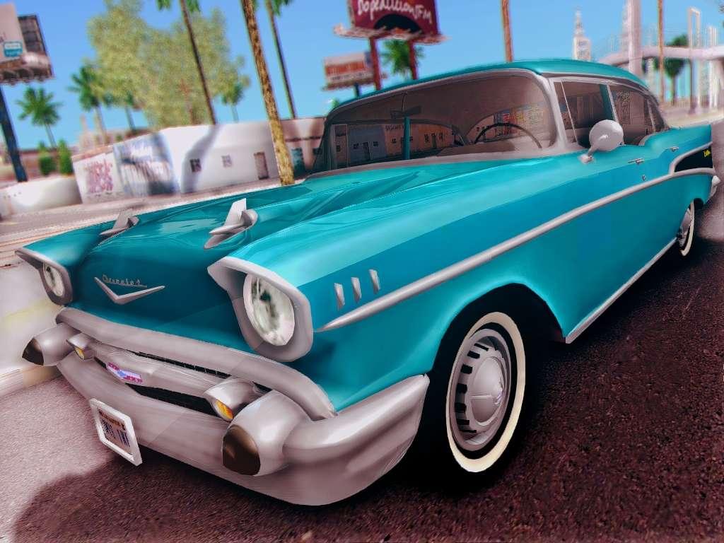 Chevrolet bel air 4 door sedan 1957 for gta san andreas for 1957 chevy bel air 4 door