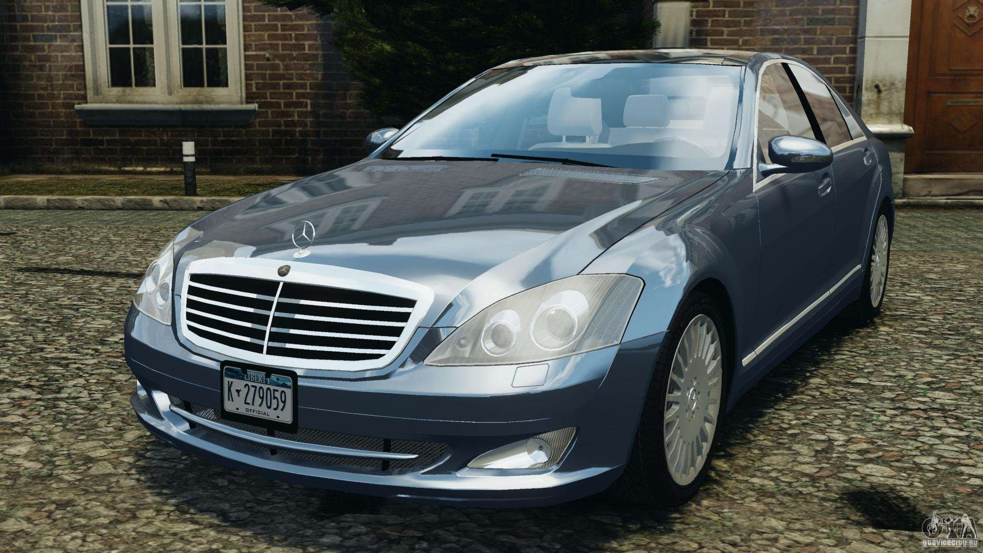 Mercedes Benz W221 S500 2006 For Gta 4