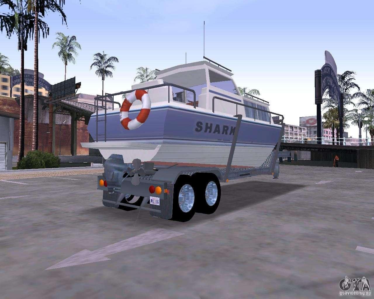 boat trailer for gta san andreas. Black Bedroom Furniture Sets. Home Design Ideas