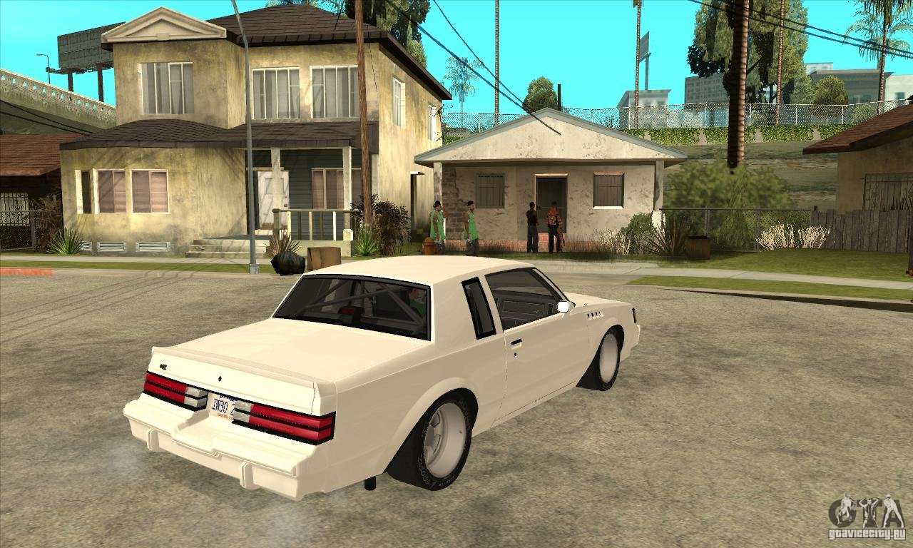 Buick regal grand national gnx for gta san andreas right view