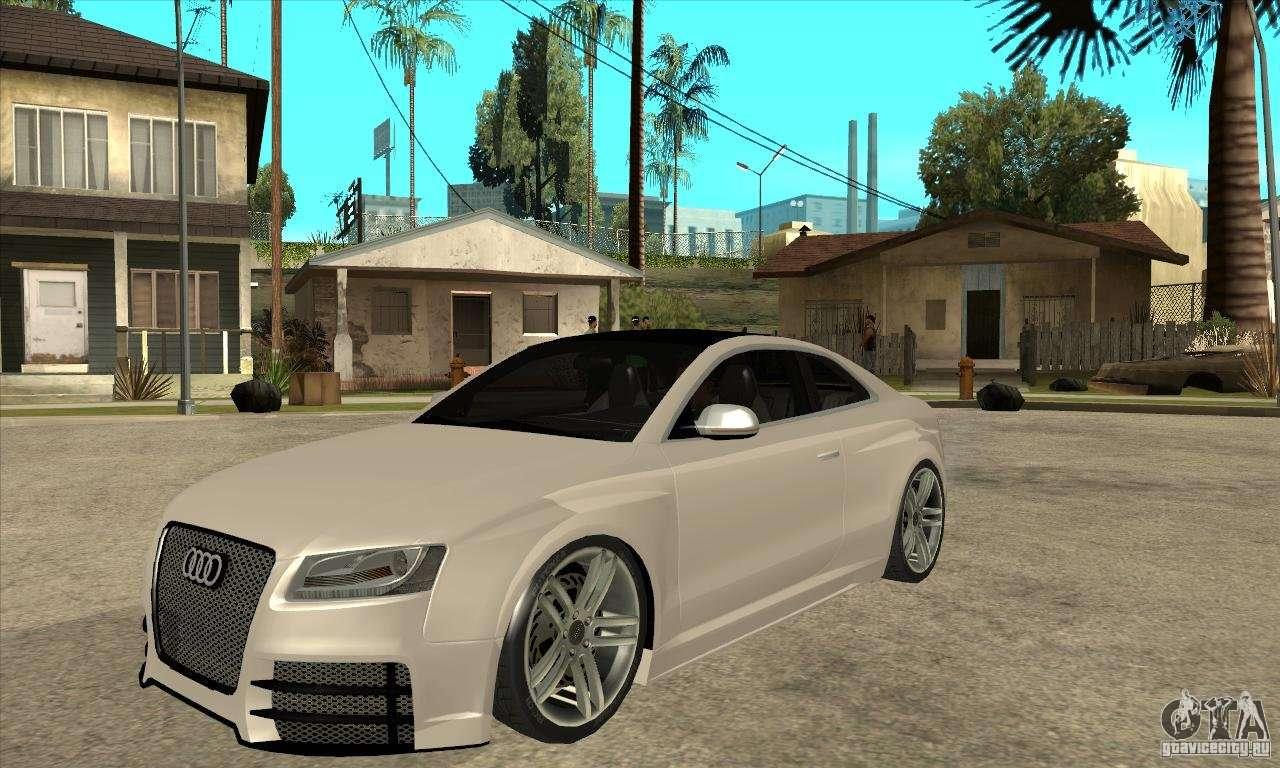 Audi s5 quattro tuning for gta san andreas for Credit auto garage audi
