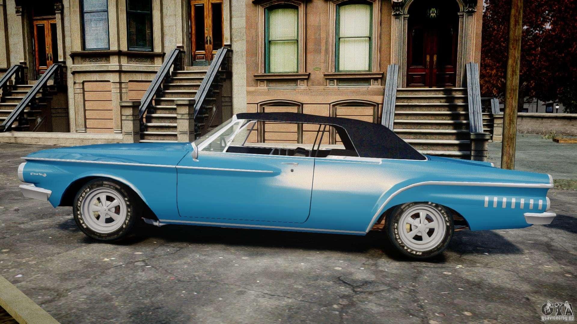 Dodge Dart 440 1962 For Gta 4
