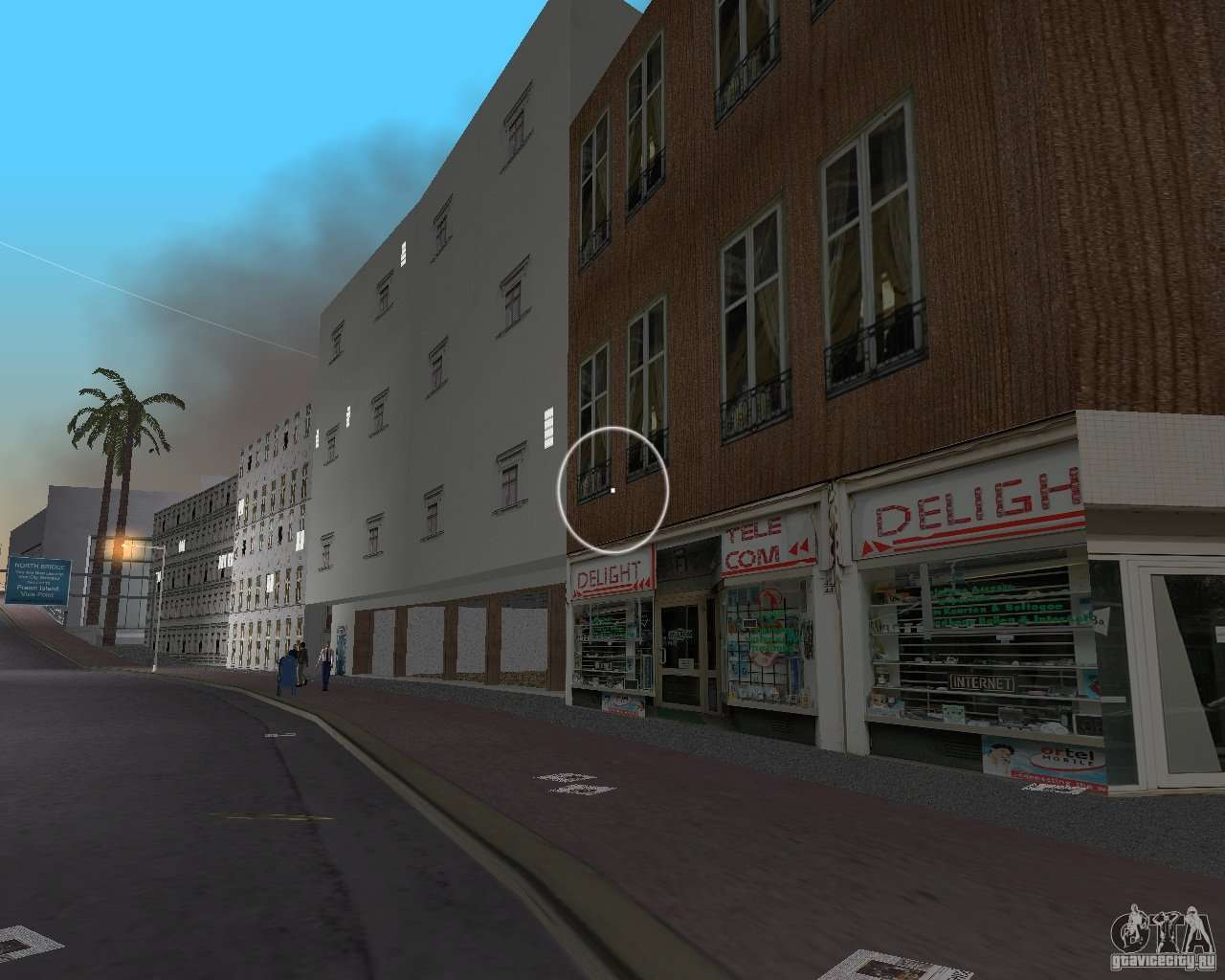 new downtown  shops and buildings for gta vice city