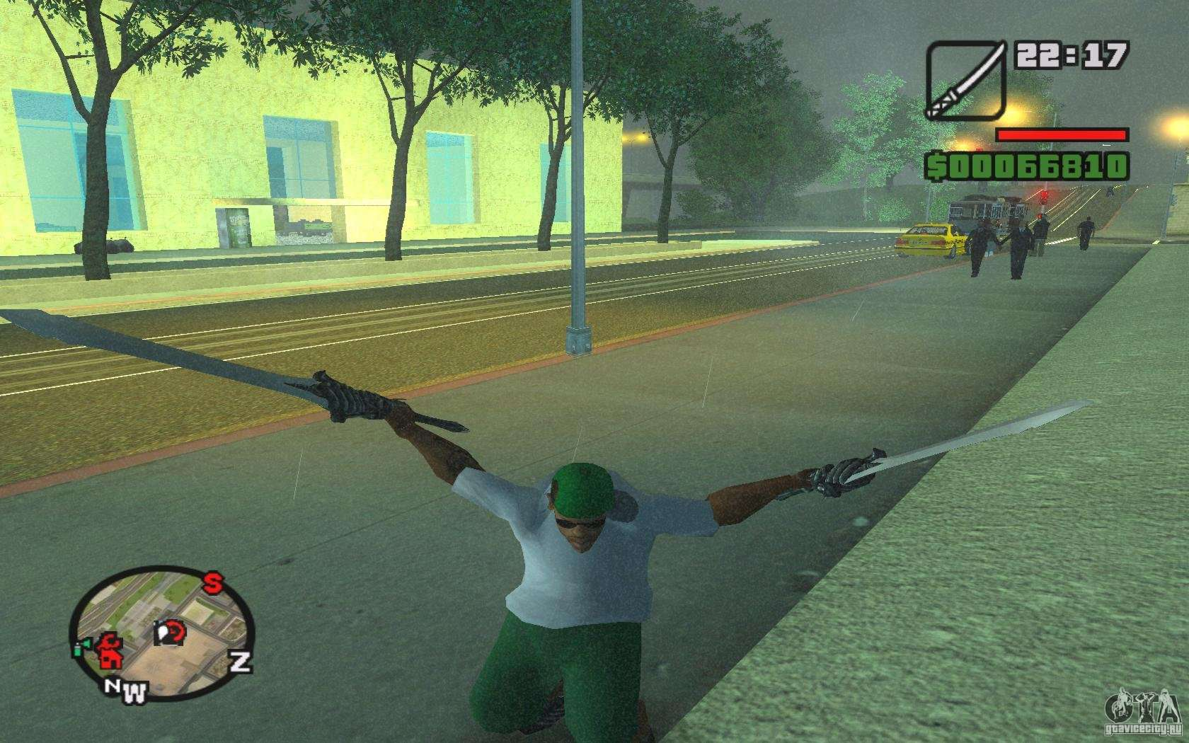 Sword Of Dante From Dmc 3 For Gta San Andreas