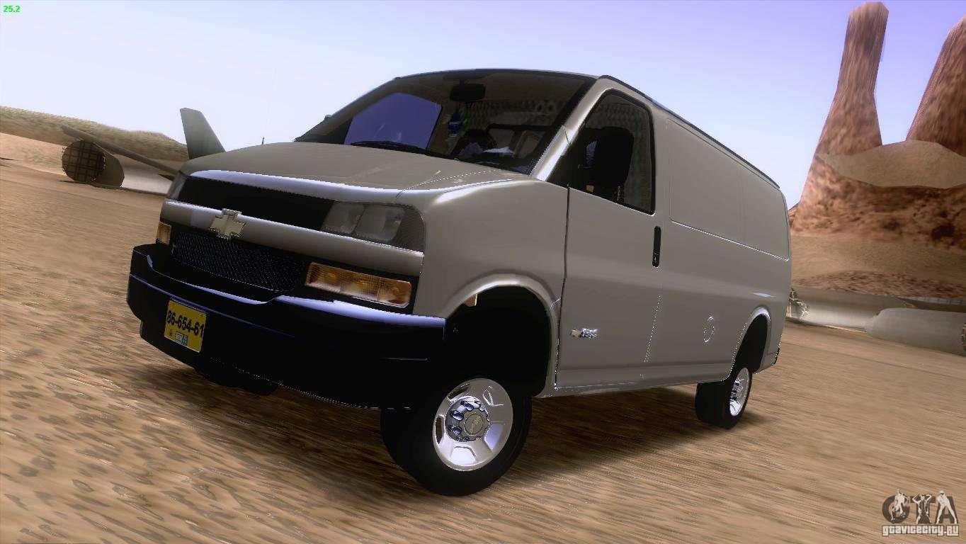 chevrolet savana 3500 cargo van for gta san andreas. Black Bedroom Furniture Sets. Home Design Ideas