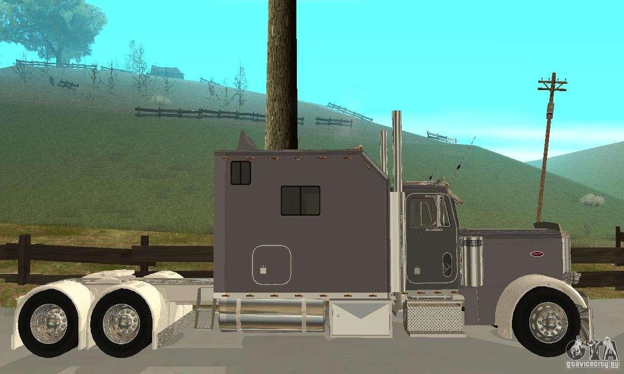 Peterbilt 379 Custom Legacy for GTA San Andreas Peterbilt 379 Legacy