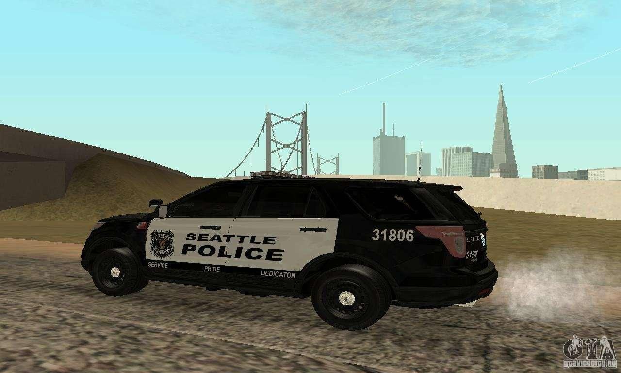 Ford police interceptor utility 2011 for gta san andreas