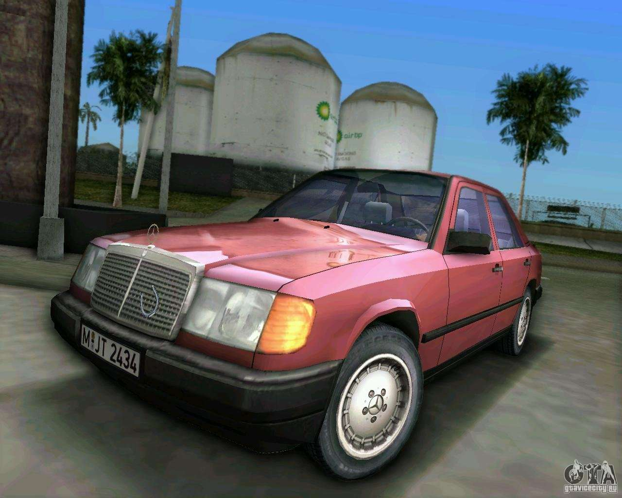 Gta Vice City Mercedes...