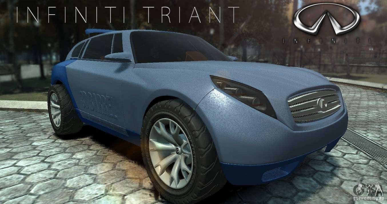 Infiniti triant concept for gta 4 vanachro Images