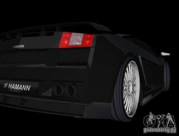 Lamborghini Gallardo Hamann Tuning For GTA Vice City Right View