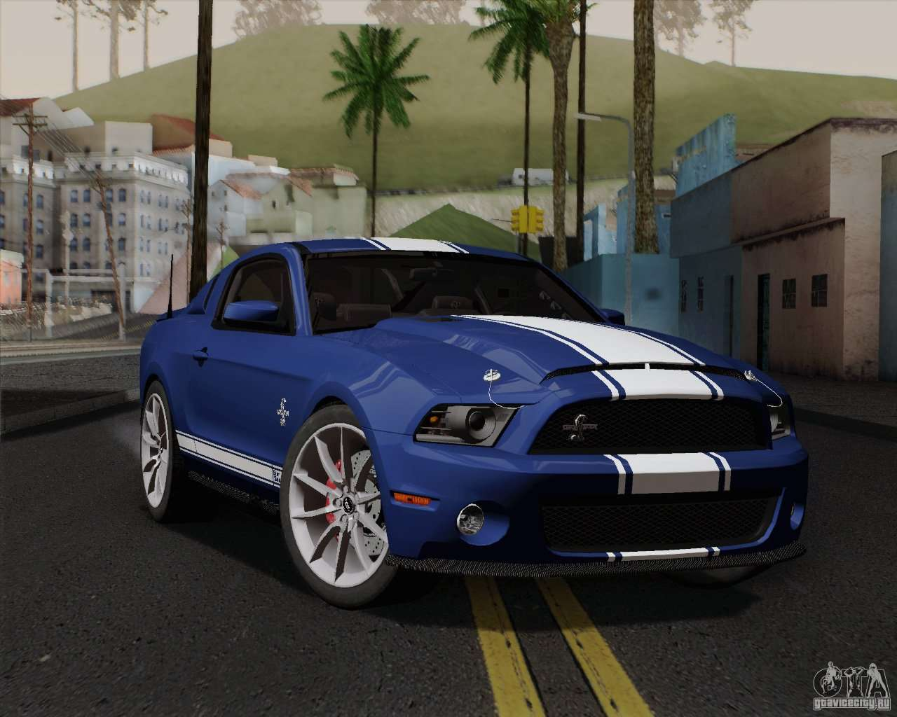 X Blades Hot Ford Shelby GT500 Supe...