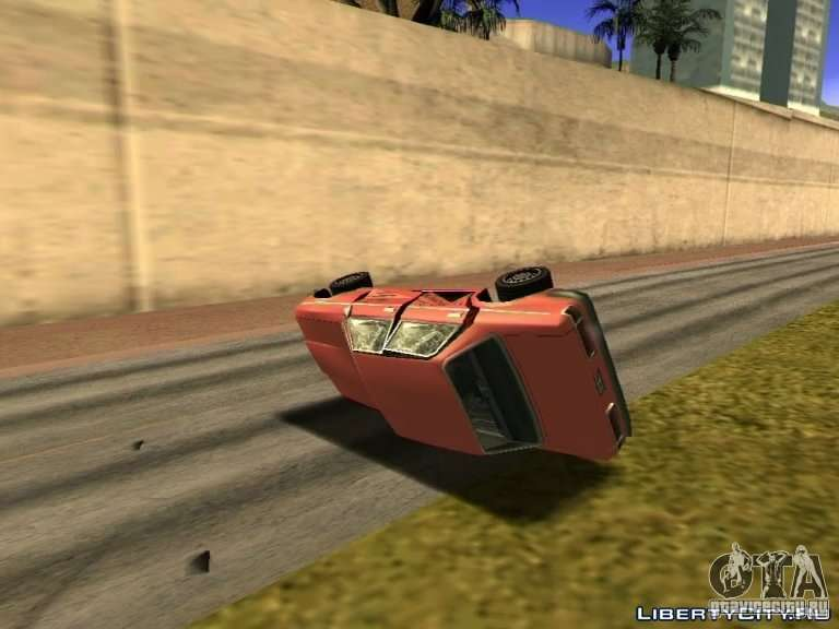 Realistic Car Crash Physics For Gta San Andreas