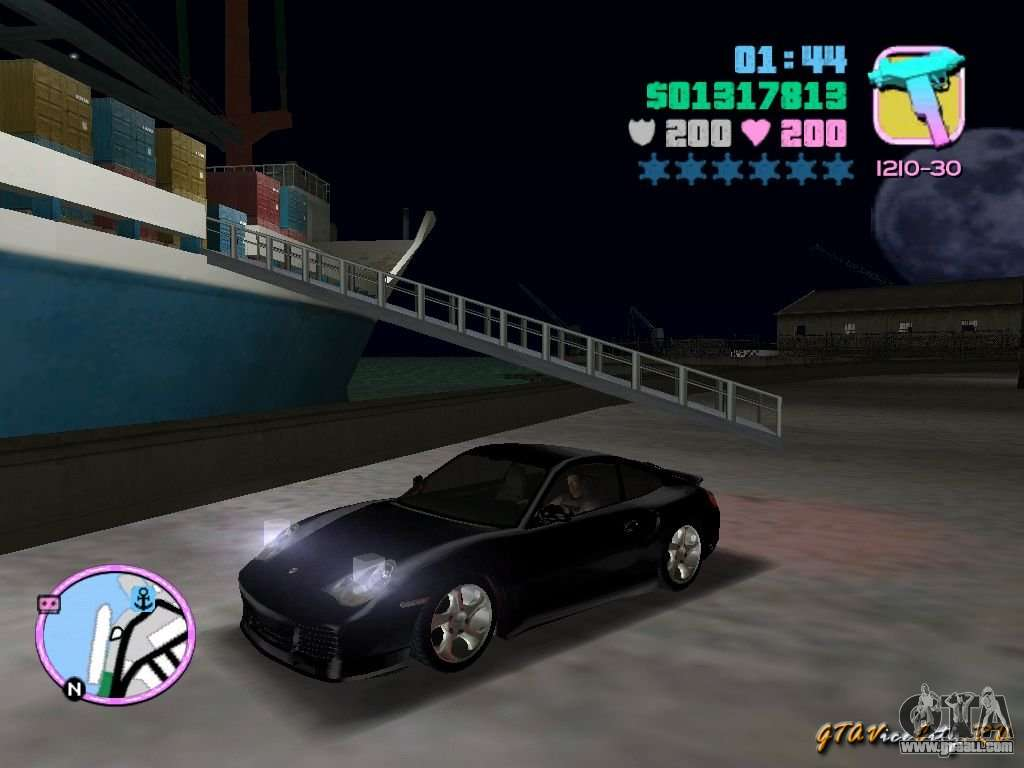porsche 911 twin turbo for gta vice city. Black Bedroom Furniture Sets. Home Design Ideas