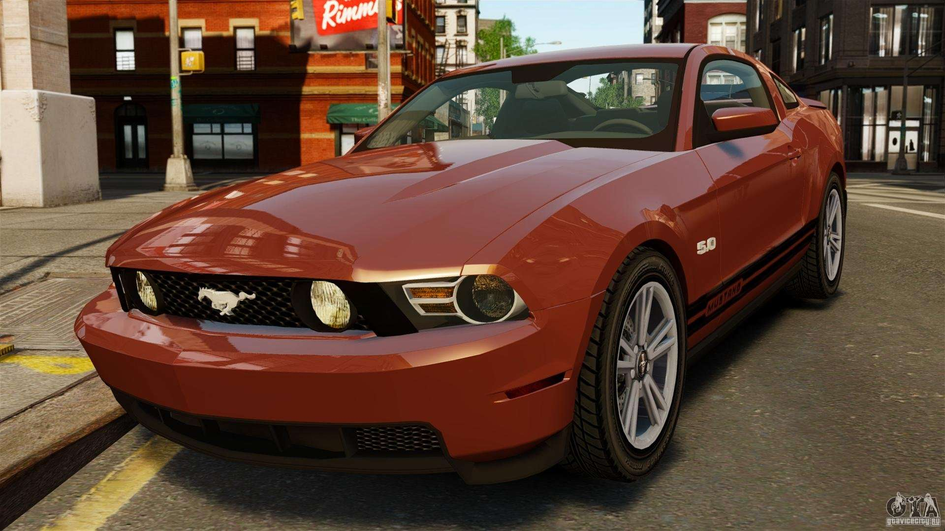 Ford Mustang Gt 2011 For Gta 4 Fuel Filter