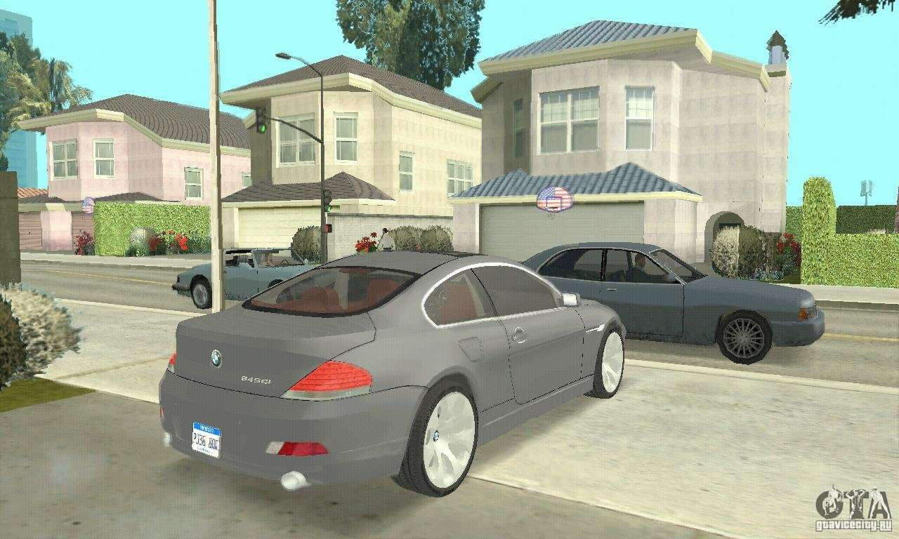 BMW 2004 bmw 645ci : 2004 BMW 645ci E63 with red Interior for GTA San Andreas