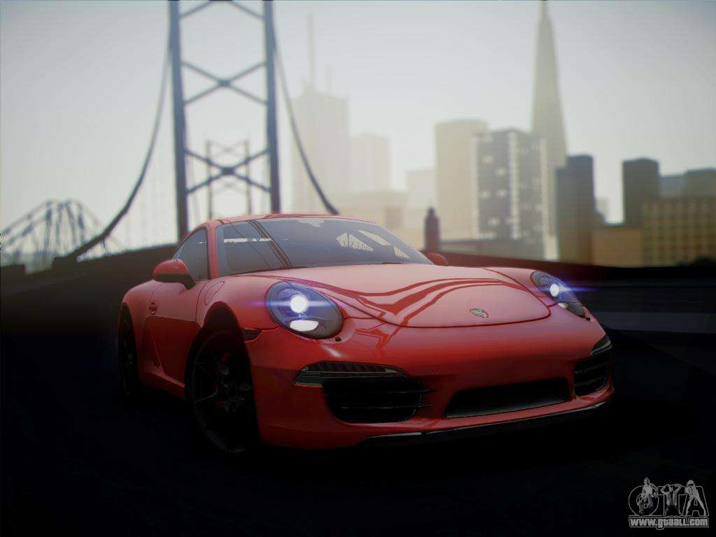 porsche 911 991 carrera s for gta san andreas. Black Bedroom Furniture Sets. Home Design Ideas