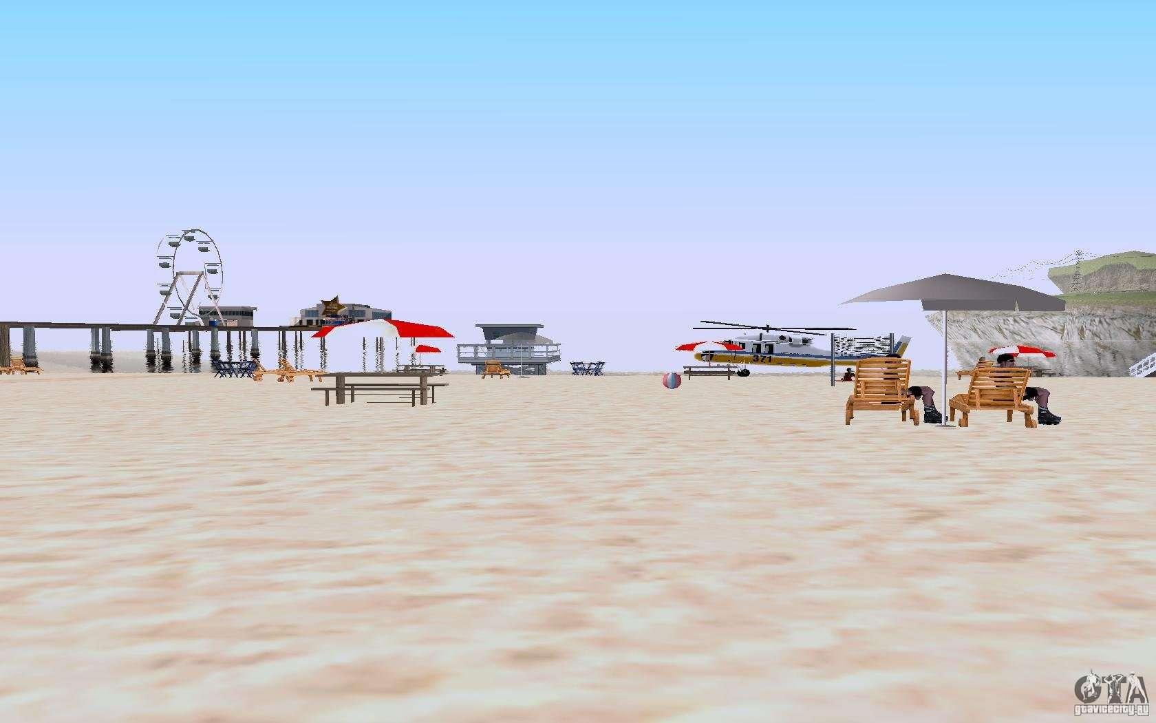 Reality Beach V2 For Gta San Andreas