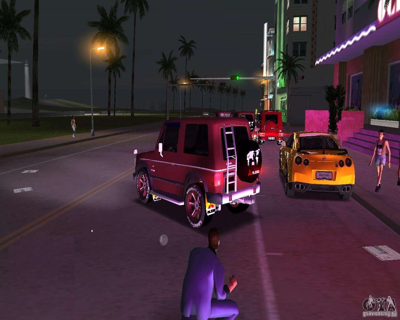 Stinger Car In Vice City