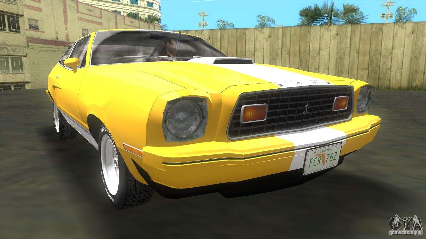 ford mustang cobra 1976 for gta vice city. Black Bedroom Furniture Sets. Home Design Ideas