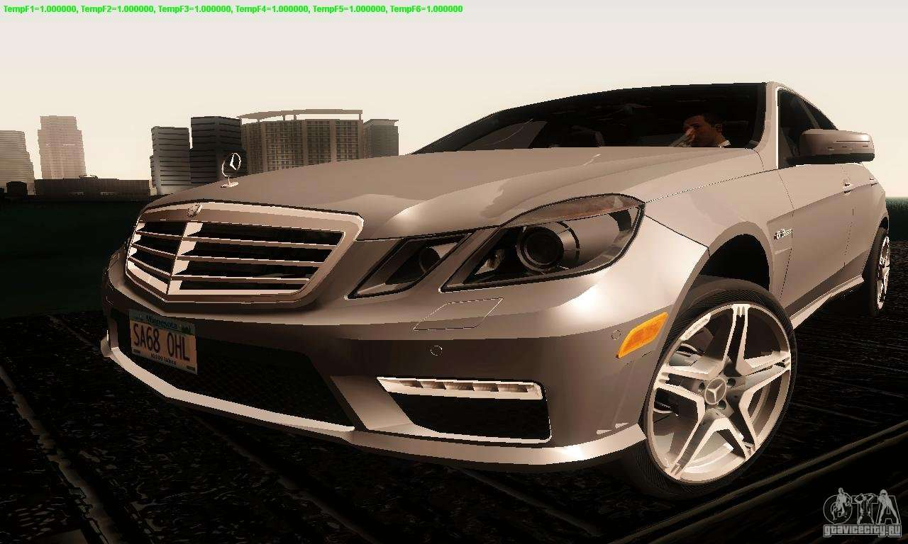 mercedes benz e63 amg 2010 for gta san andreas. Black Bedroom Furniture Sets. Home Design Ideas