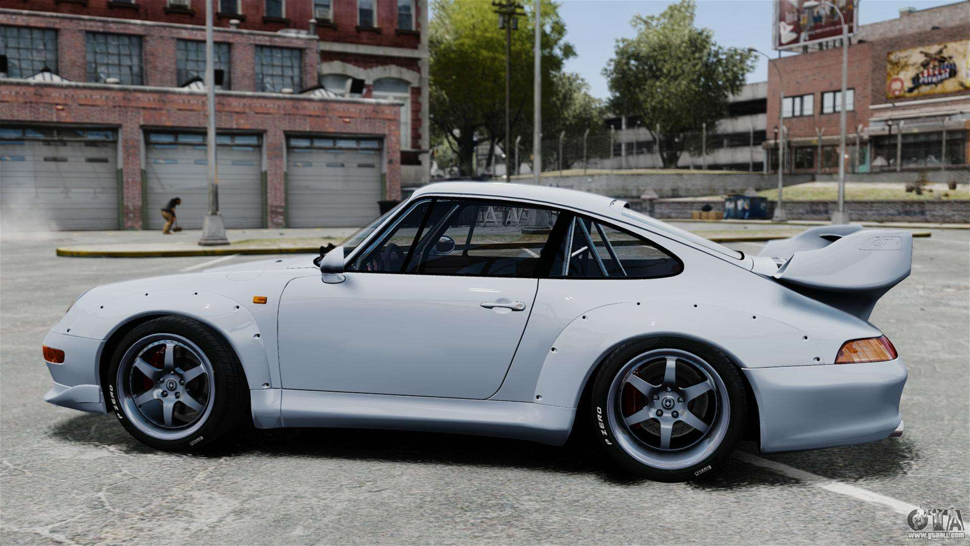 porsche 993 gt2 1996 for gta 4. Black Bedroom Furniture Sets. Home Design Ideas