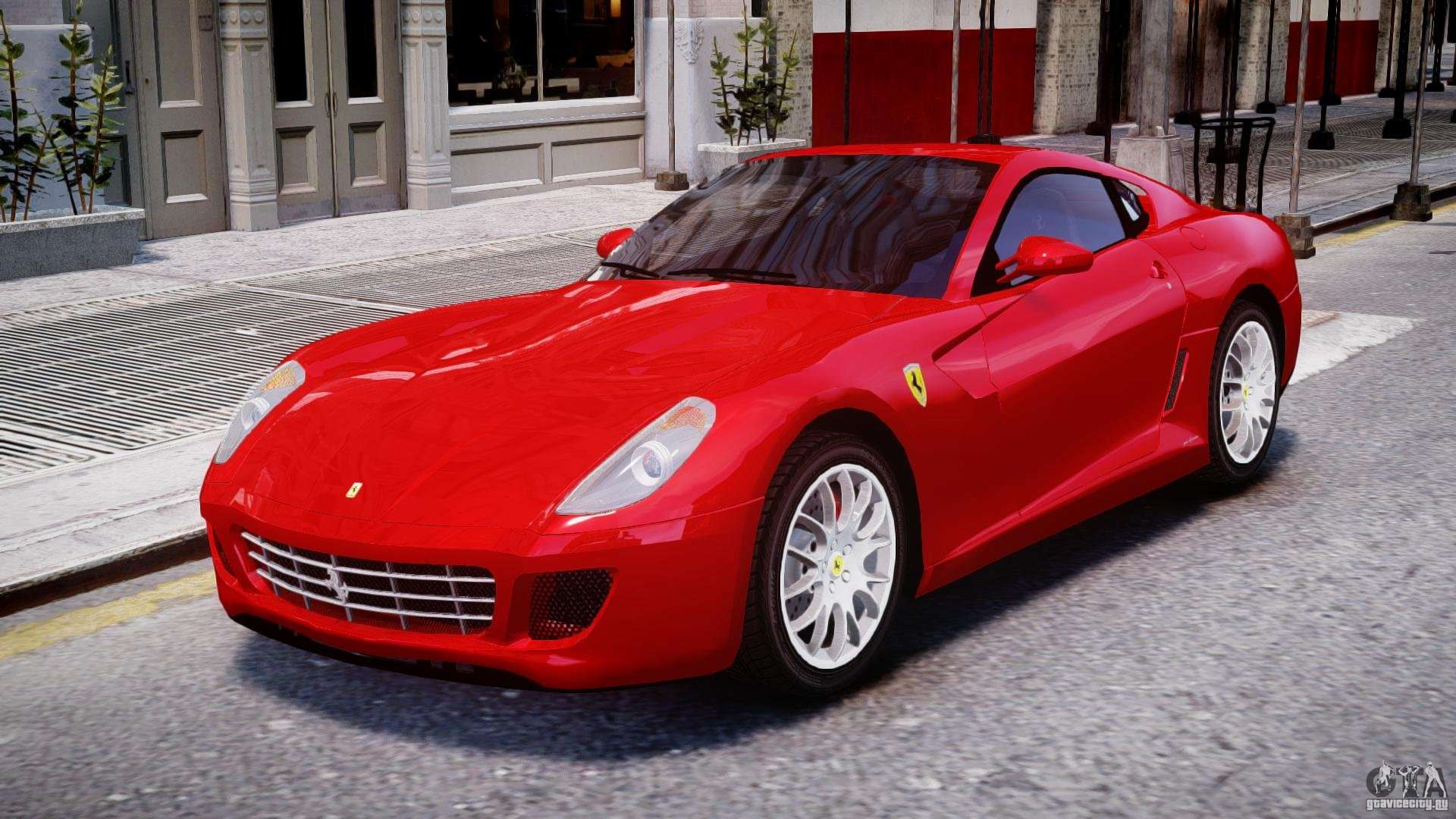ferrari 599 gtb fiorano for gta 4. Black Bedroom Furniture Sets. Home Design Ideas