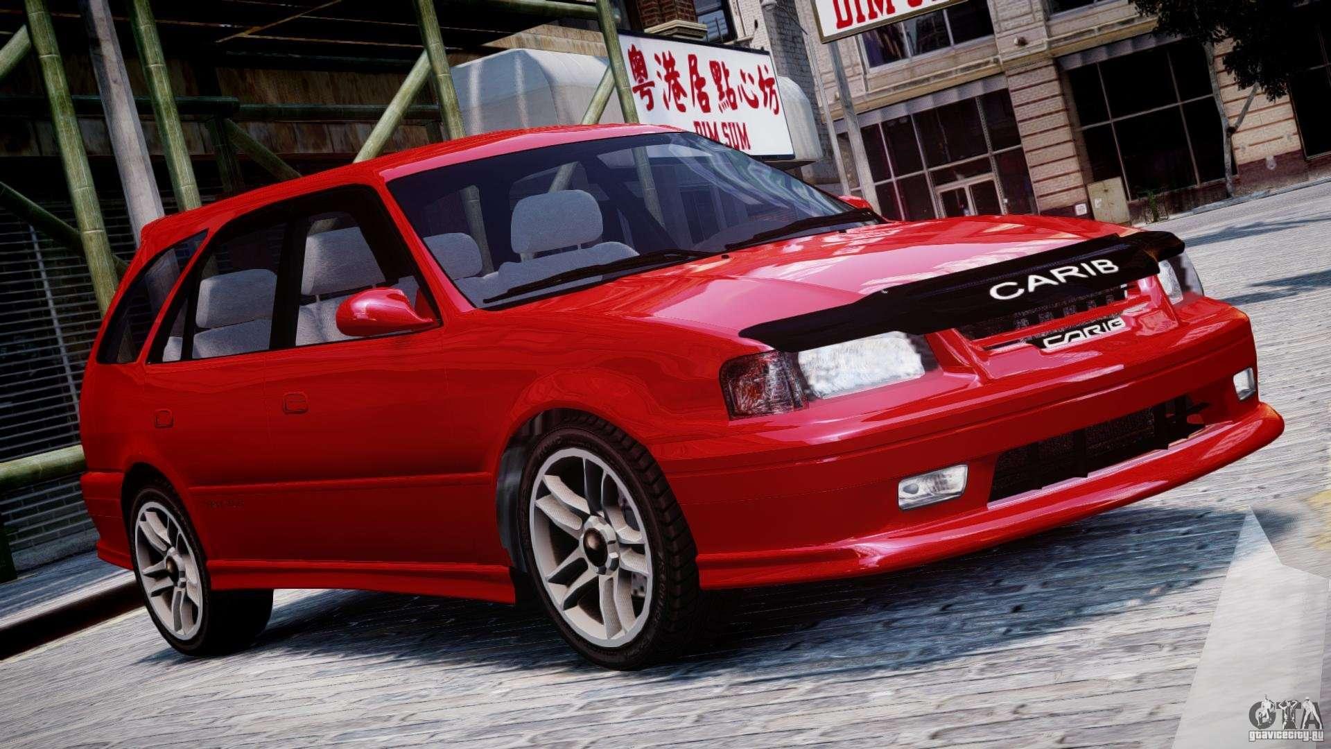 Toyota Sprinter Carib Bz Touring 1999 Beta For Gta 4